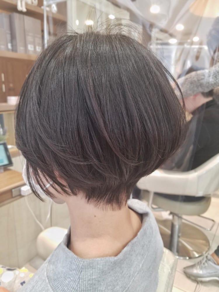 縮毛矯正×ショート|サブ写真②