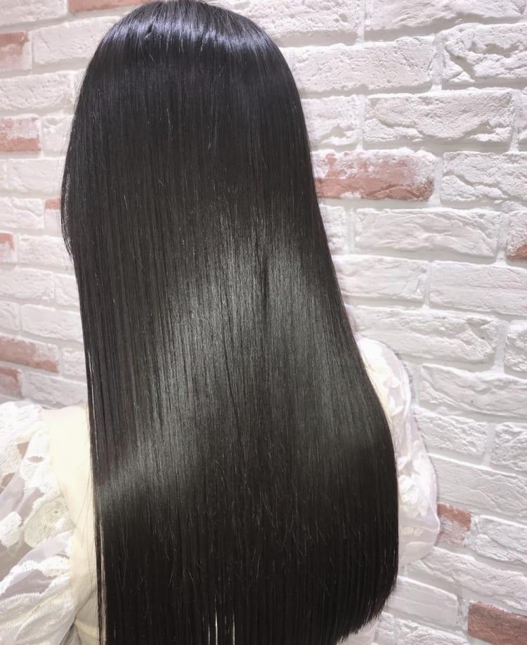 髪質改善トリートメント縮毛矯正 メイン写真