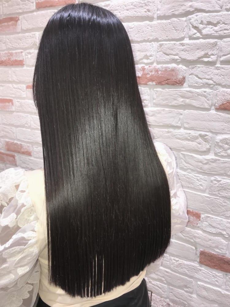 髪質改善トリートメント縮毛矯正 サブ写真②