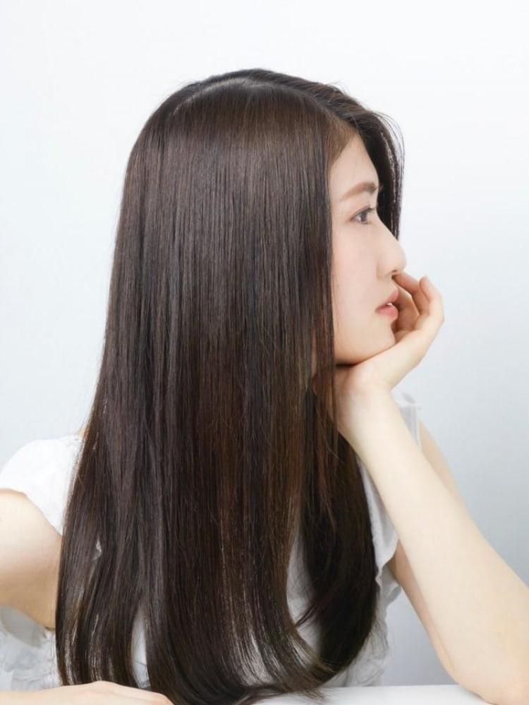 ダメージレスの最新縮毛矯正|サブ写真②