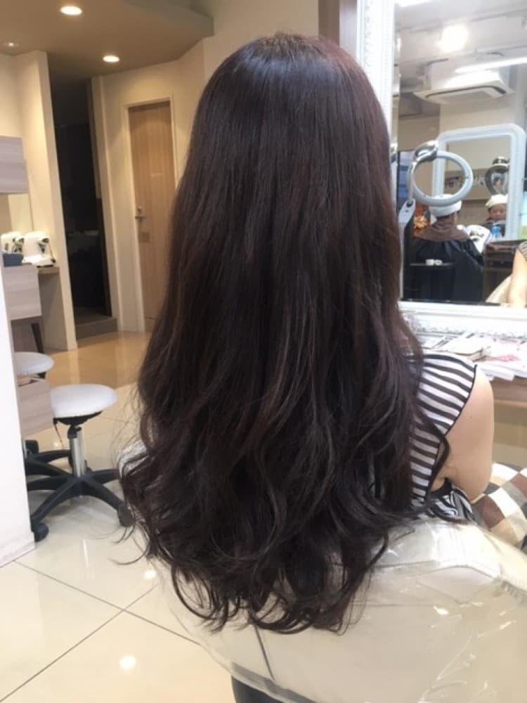 イルミナカラーで艶髪ロング サブ写真②