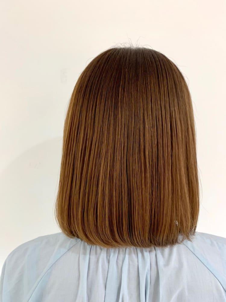 美フォルム髪質改善ストレート メイン写真