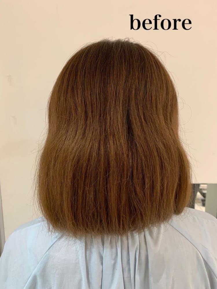 美フォルム髪質改善ストレート サブ写真②
