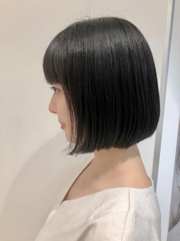 【髪質改善】つやっとまとまる小顔ボブ♪|サブ写真②