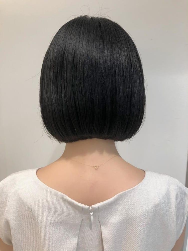 【髪質改善】つやっとまとまる小顔ボブ♪|サブ写真③