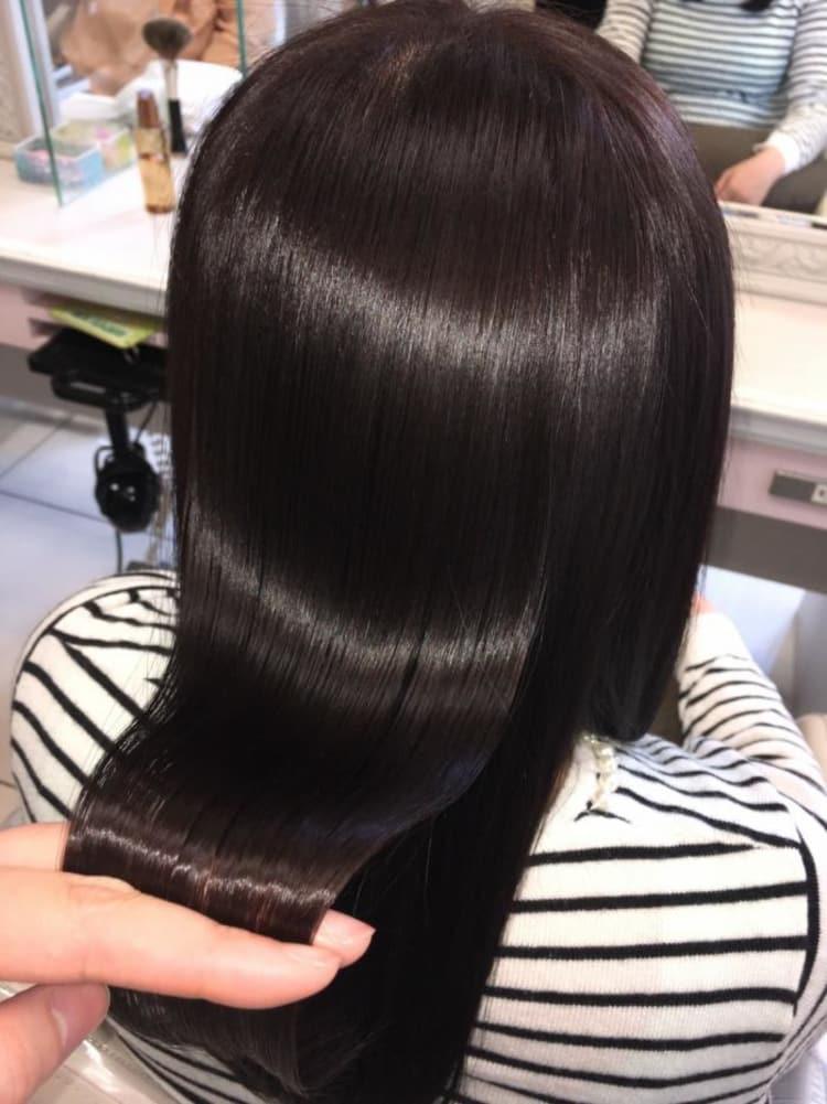 【くせ毛の方必見!】ナチュラルなツヤ髪ストレート メイン写真