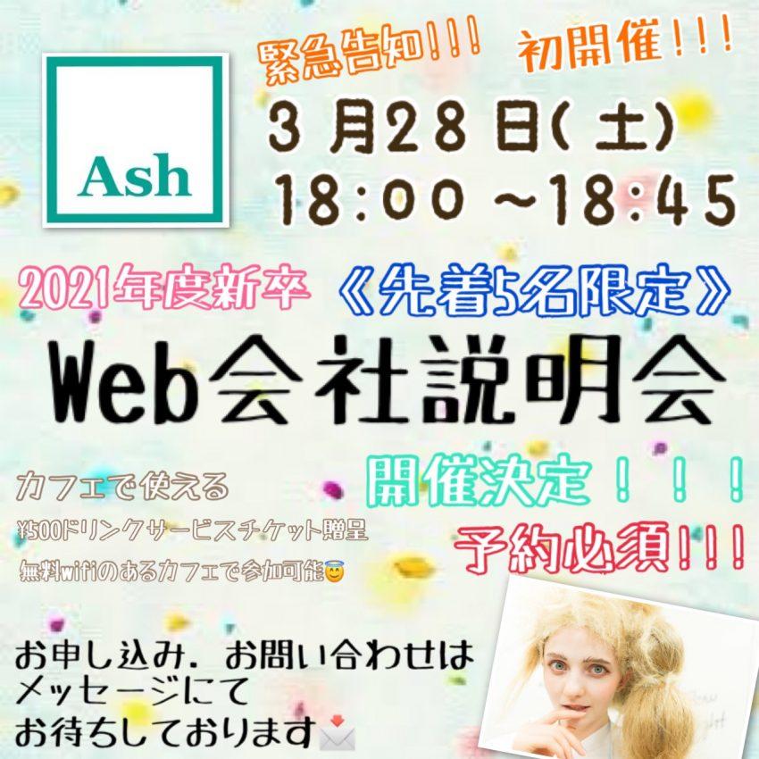 WEB会社説明会