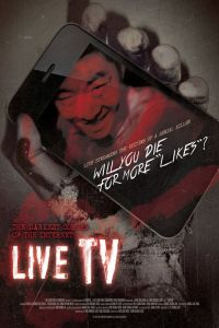Live TV film poster
