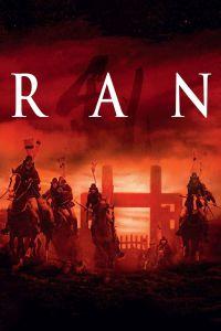 Ran film poster