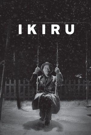 Ikiru film poster