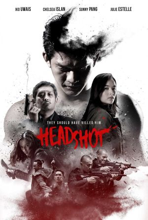 Headshot film poster