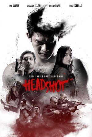 Headshot film poster