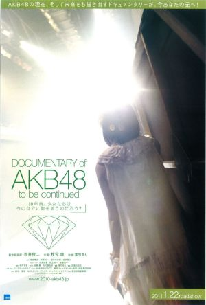 Documentary of AKB48 To Be Continued film poster