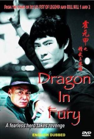 Dragon in Fury film poster
