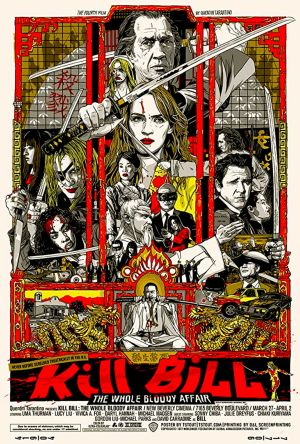 Kill Bill: The Whole Bloody Affair film poster