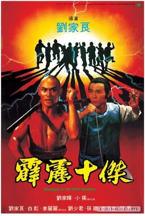 Disciples of the 36th Chamber film poster