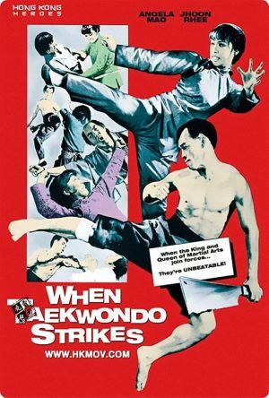 When Taekwondo Strikes film poster