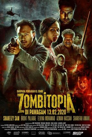 Zombitopia film poster