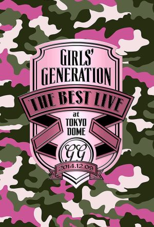Girls' Generation The Best Live At Tokyo Dome film poster