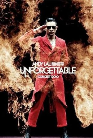 Andy Lau Unforgettable Concert 2010 film poster