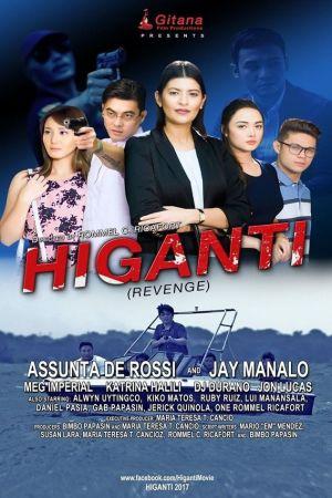 Revenge film poster