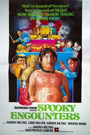 Spooky Encounters film poster
