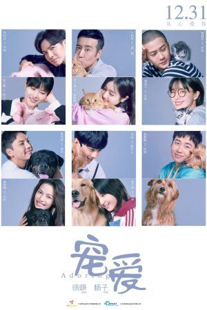 Adoring film poster