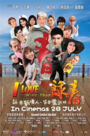 I Love Wing Chun film poster