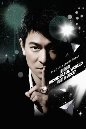 Andy Lau Wonderful World Concert Tour Hong Kong 2007 film poster