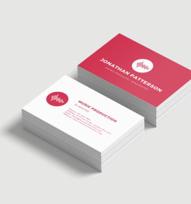 business cards double sided printing