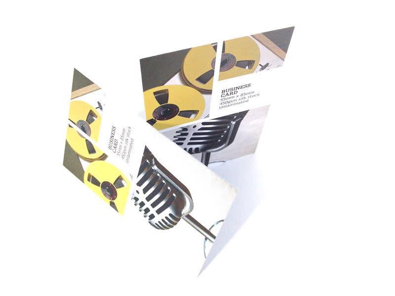 Standard business card printing 450gsm-silk