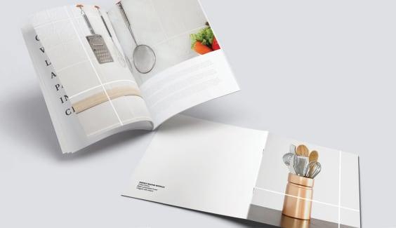 booklet brochure printing saddle stitch