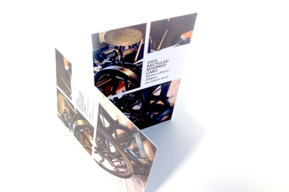 Recycled business cards 350gsm