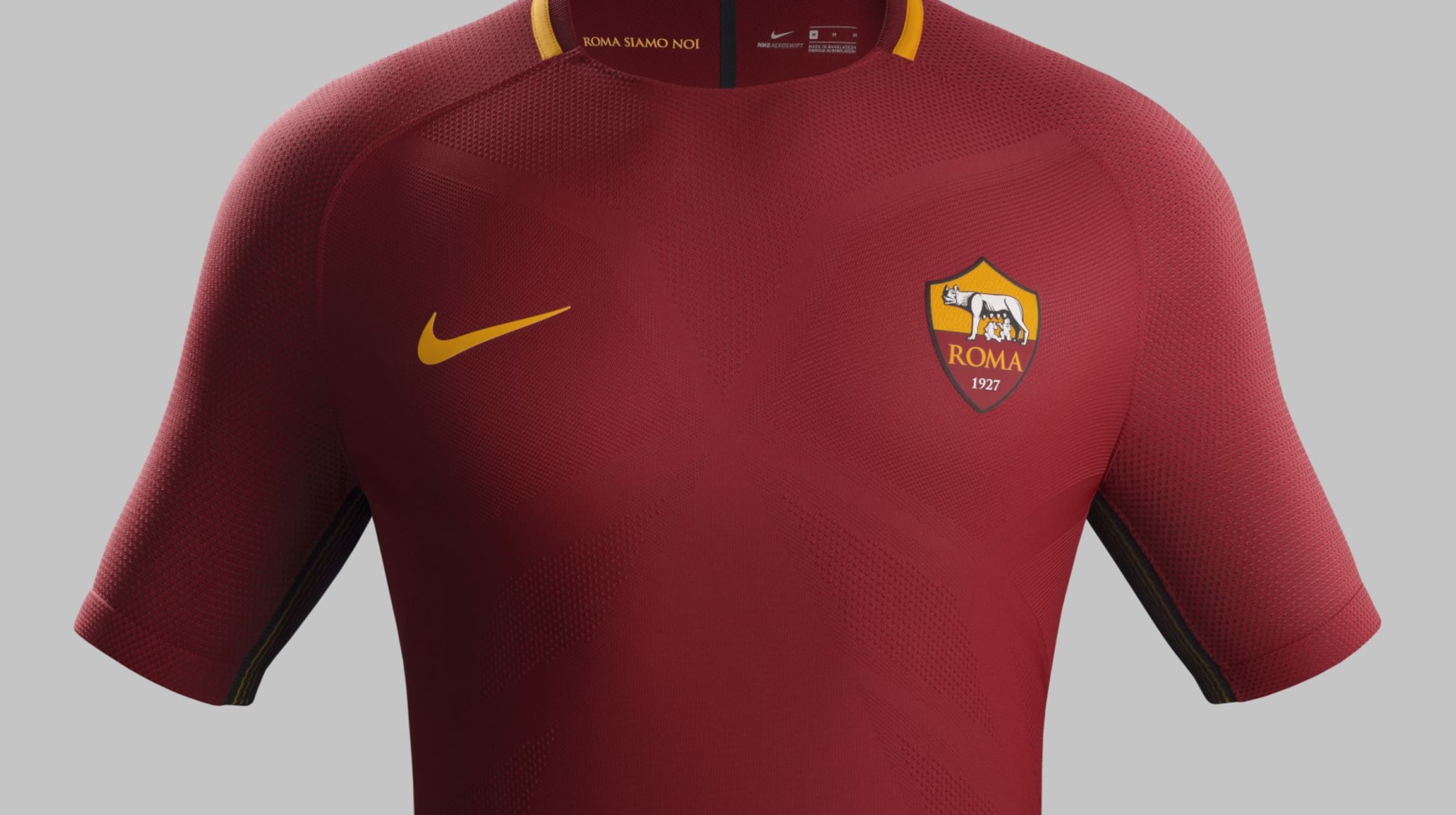 089e43b1c Buy AS Roma s new Nike home kit for the 2017-18 season now