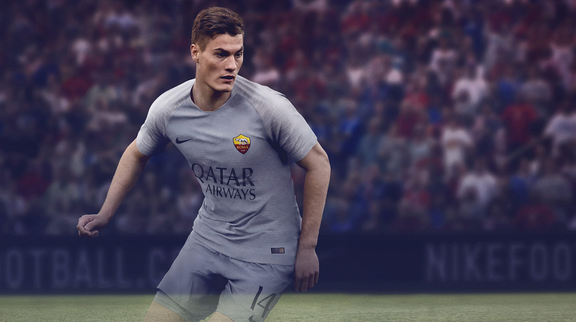 f2c19877e 28 Jun 2018 By AS Roma. AS Roma are delighted to unveil the new Nike away  strip for the 2018-19 season ...