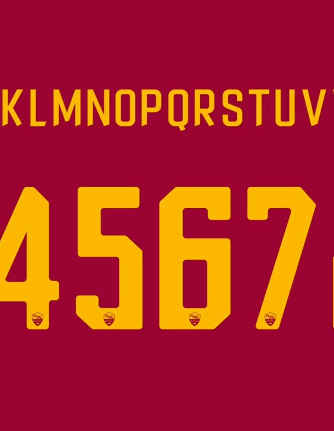 The kits will also be complemented by new numbering and lettering for the  upcoming campaign. 47b5e4335