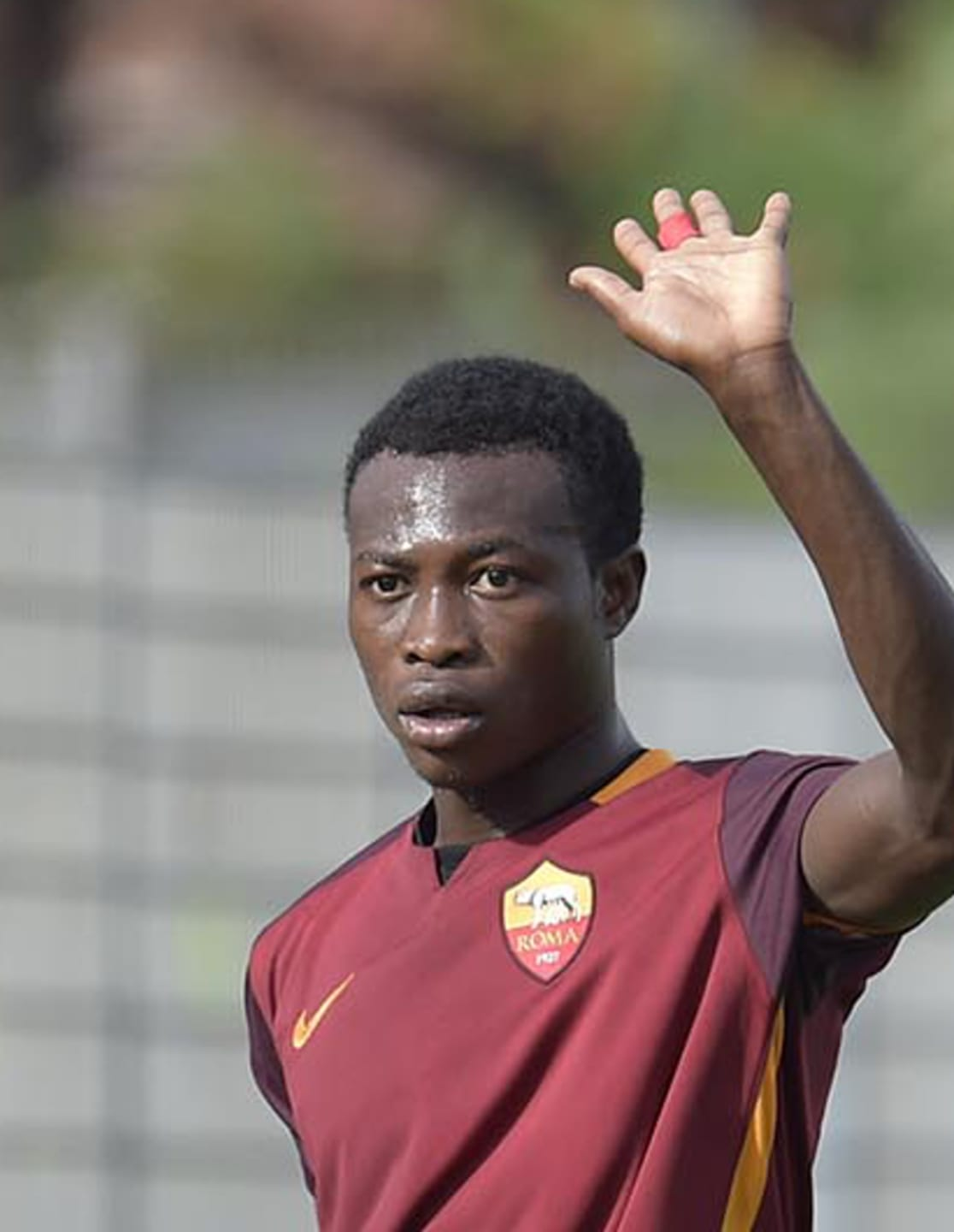 Image result for images of defender Nura Abdullahi of AS Roma