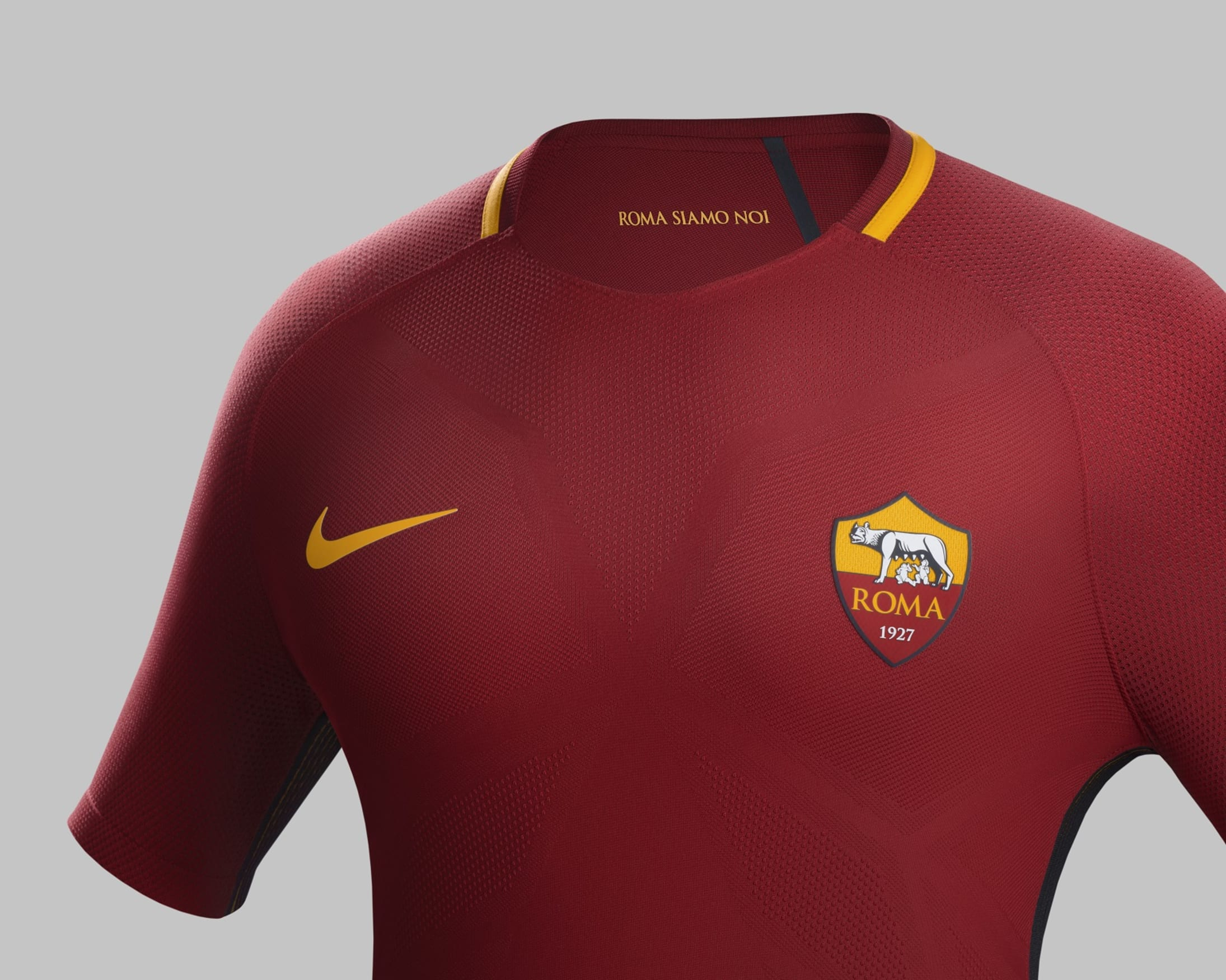Buy AS Roma's new Nike home kit for the 2017-18 season now