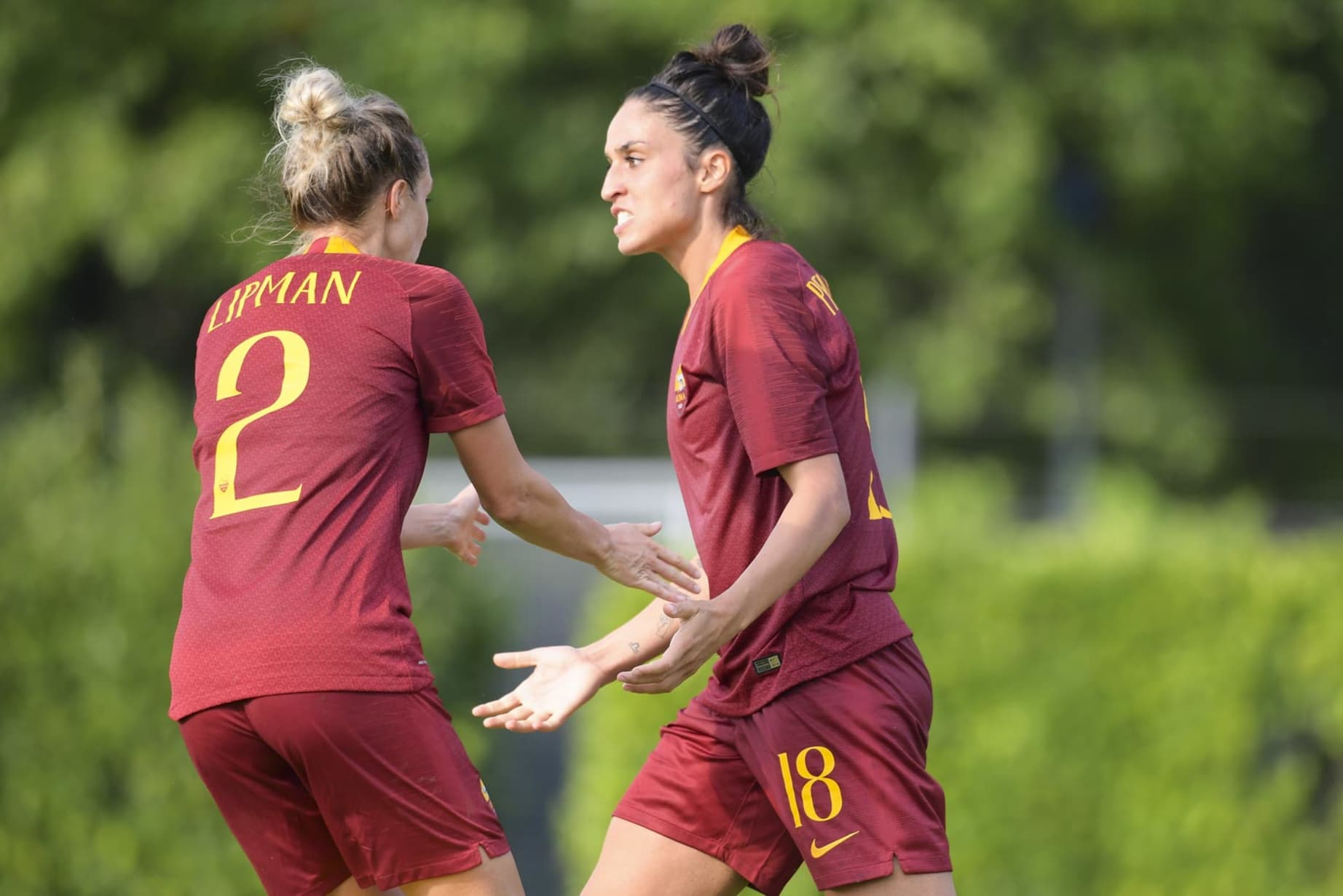 Gallery 20 Photos From Roma Women S Historic Serie A Debut