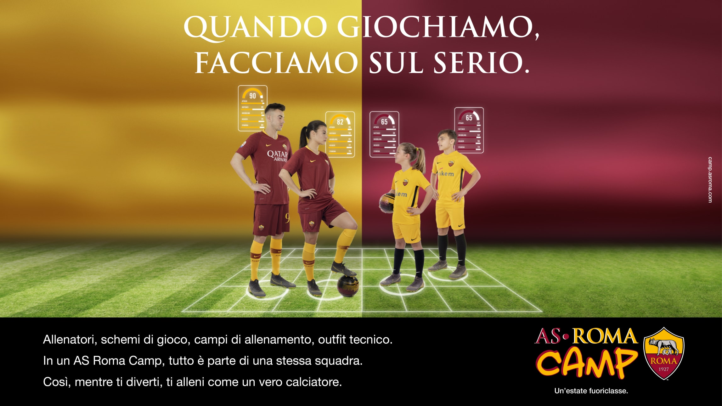 Asroma Calendario.Tornano Gli As Roma Camp