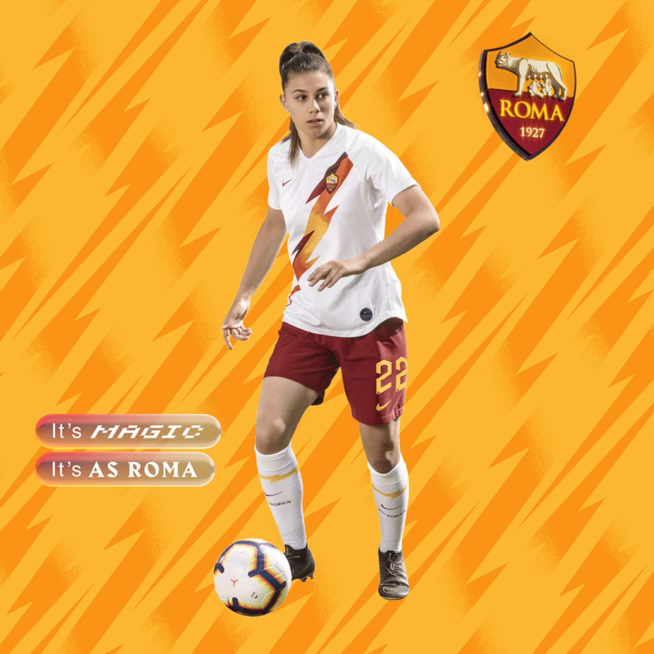 huge discount 8ef9b 437ce AS Roma and Nike present new away kit for 2019-20 campaign
