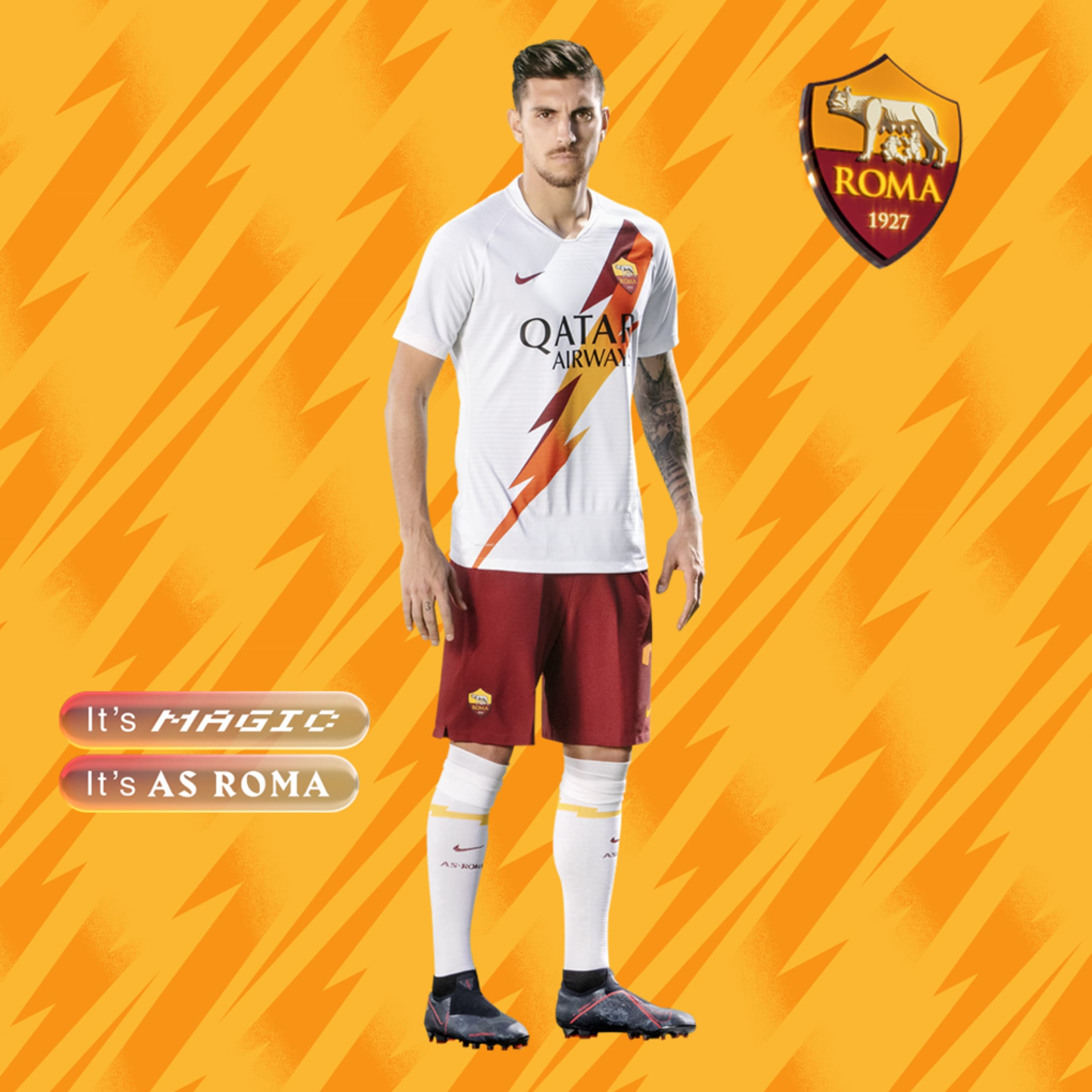 AS Roma and Nike present new away kit for 2019-20 campaign