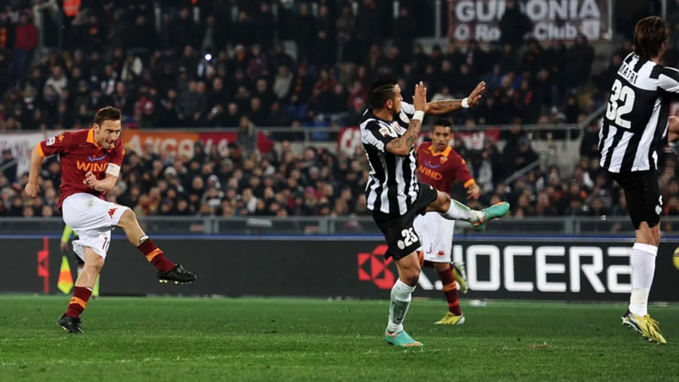 Top Five: Roma-Juve clashes from the last 30 years
