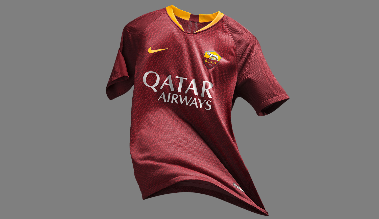 AS Roma present 2018-19 Nike home kit 7c581be1f
