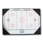 Taktikktavle med klips, 30 x 45 cm, Ishockey