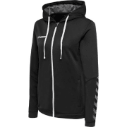 hmlAUTHENTIC POLY ZIP HOODIE WOMAN