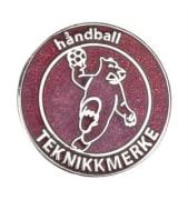 TEKNIKKMERKE RØDT, METALL 20MM