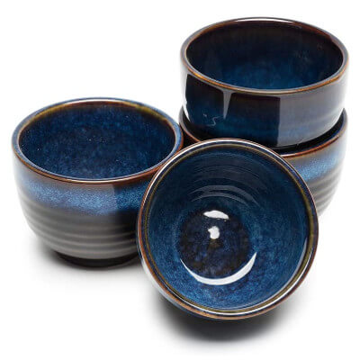 Blue Ceramic Cups