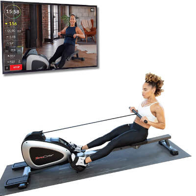 Bluetooth Rowing machine