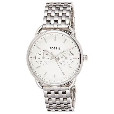 Fossil silver-tone women's watch